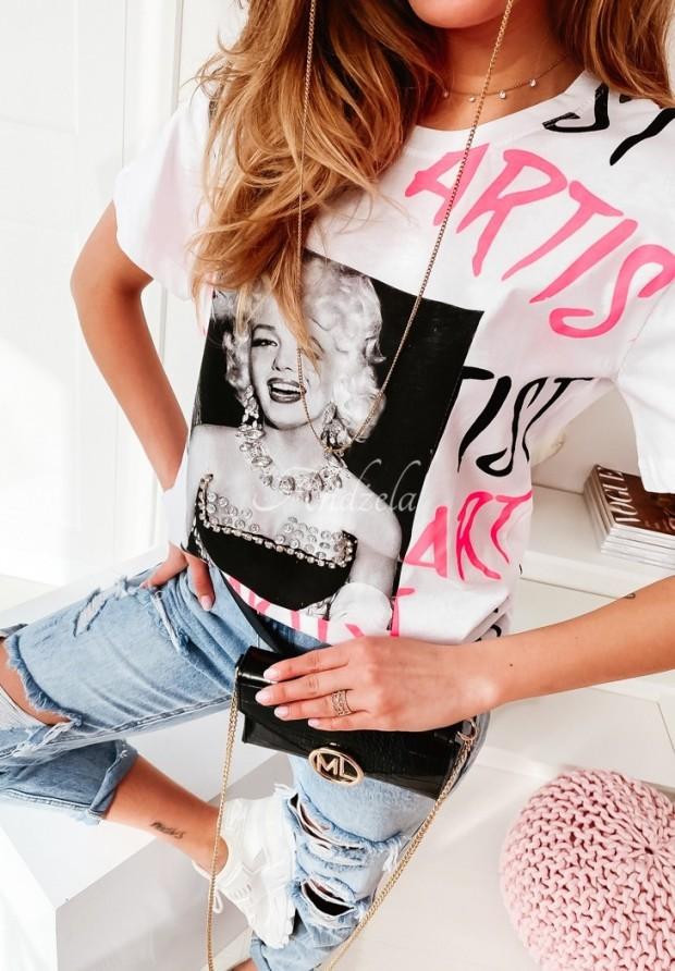 T-shirt Marilyn White