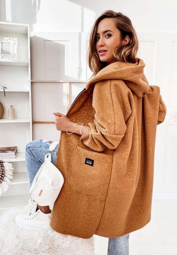 Płaszcz Leya Camel