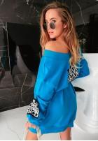Sukienka Bluza MC Powerful Turquoise