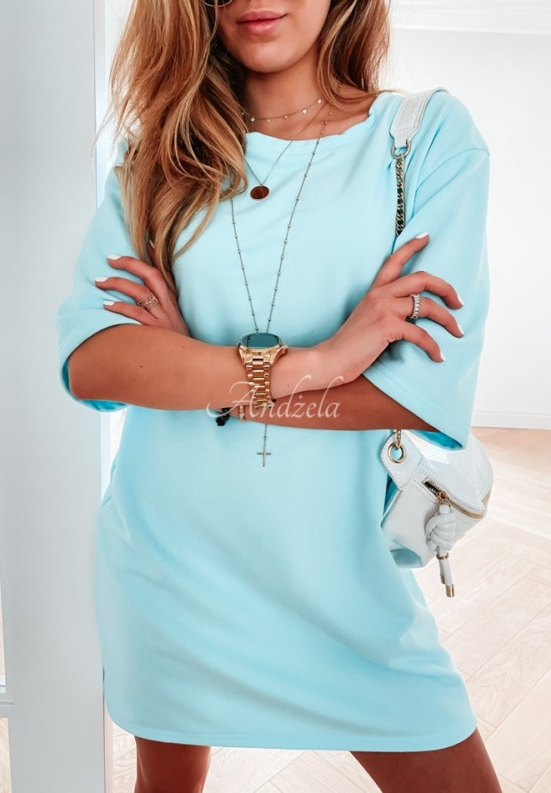 Sukienka Tunika Federica Light Blue