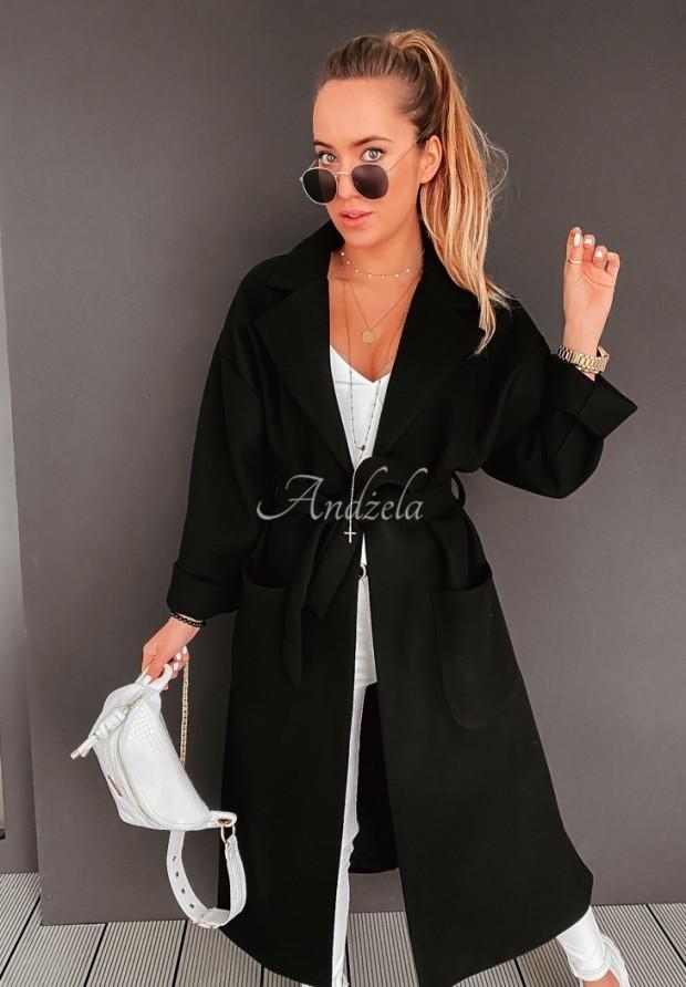 Płaszcz Oversize Frisa Black