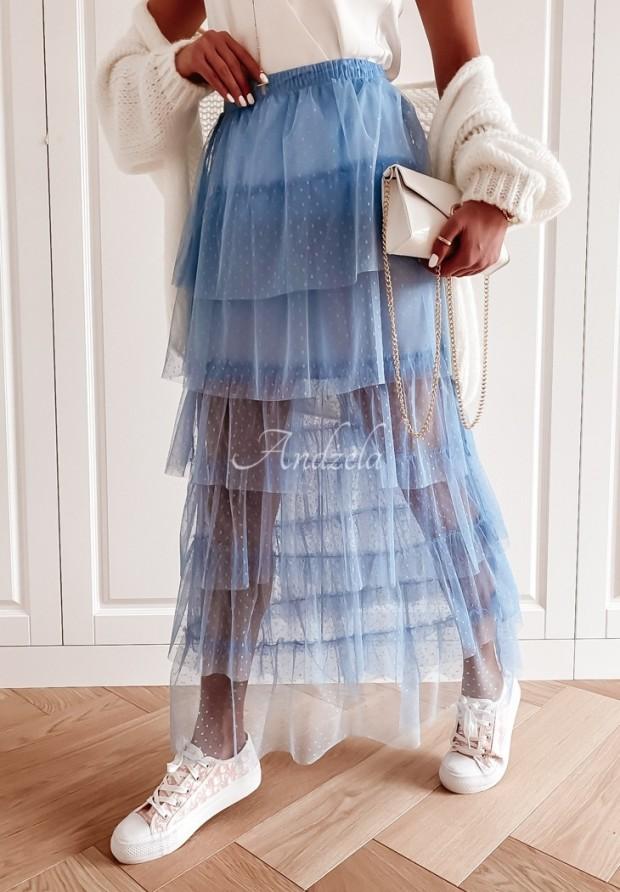 Spódnica Tiul Violetta Blue