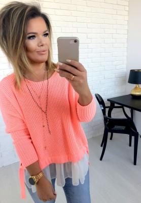 Sweter Molly Łosoś