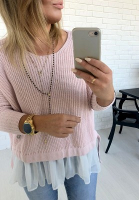 Sweter Molly Puder