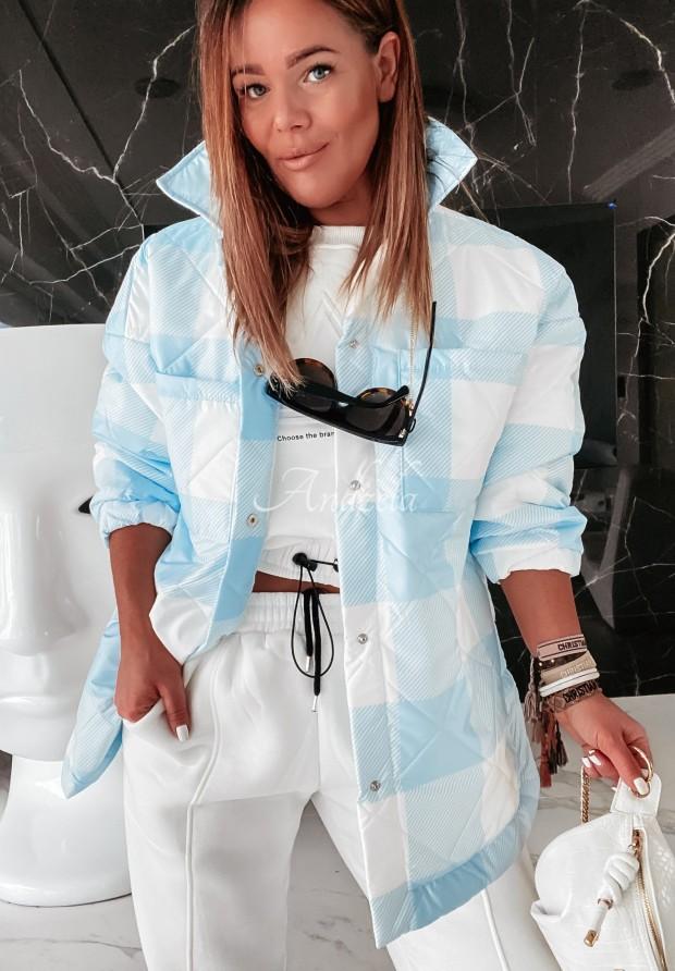 Kurtka Oversize Adele Baby Blue