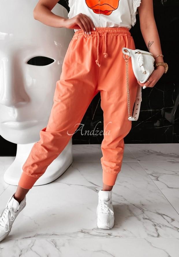 Spodnie Dresowe Savoia Orange