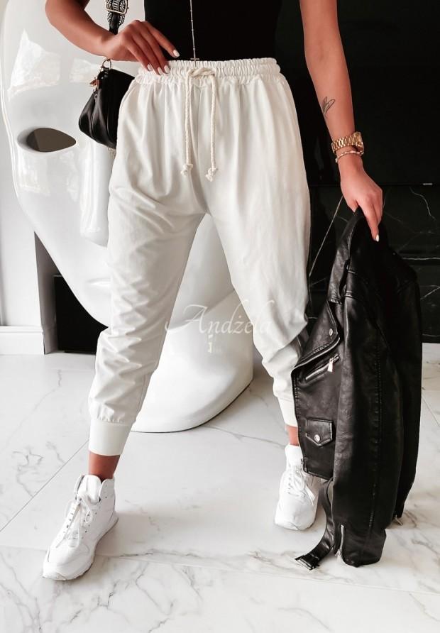 Spodnie Dresowe Savoia Ecru