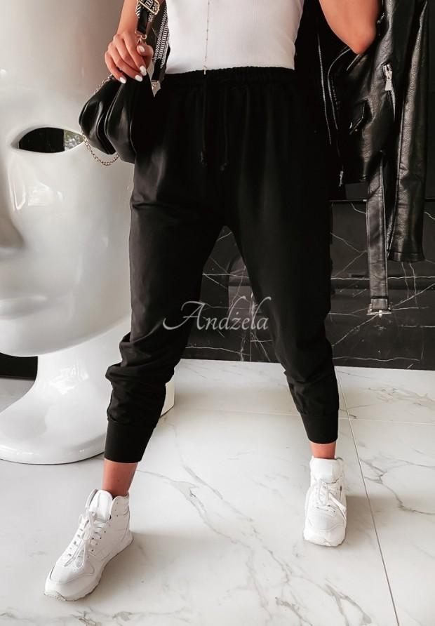 Spodnie Dresowe Savoia Black