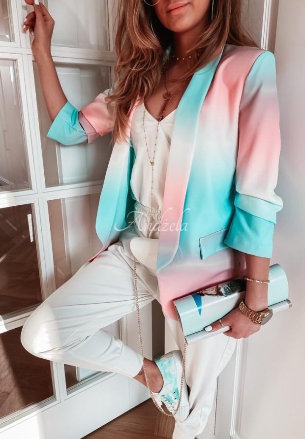 Marynarka Carlton Ombre Pink&Mint