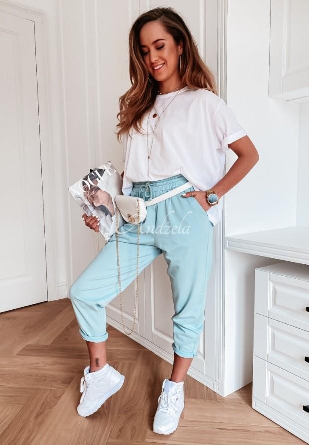 Spodnie Dresowe Abisso Baby Blue