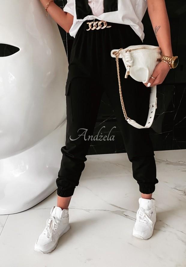 Spodnie Bojówki Parey Black