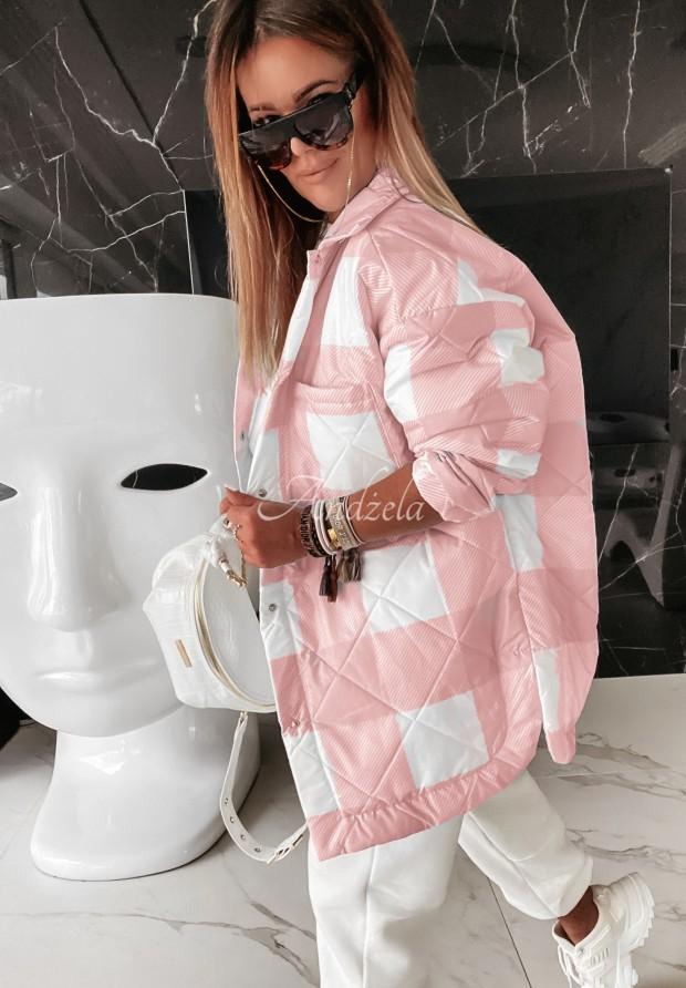 Kurtka Oversize Adele Pink