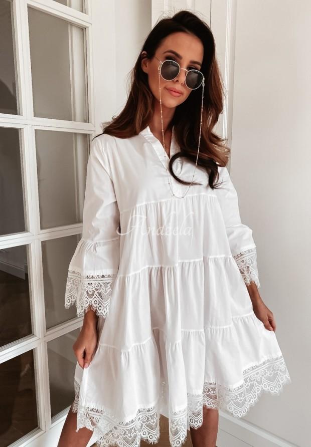 Sukienka Leta White