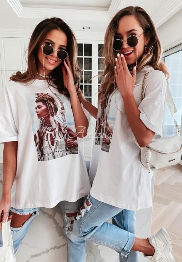 T-shirt Kiley White