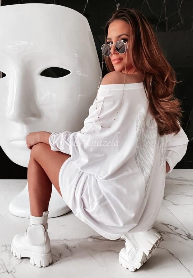Bluzka Tunika Venna White