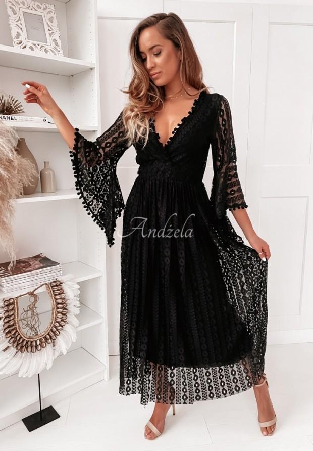 Sukienka Boho Morticia Black