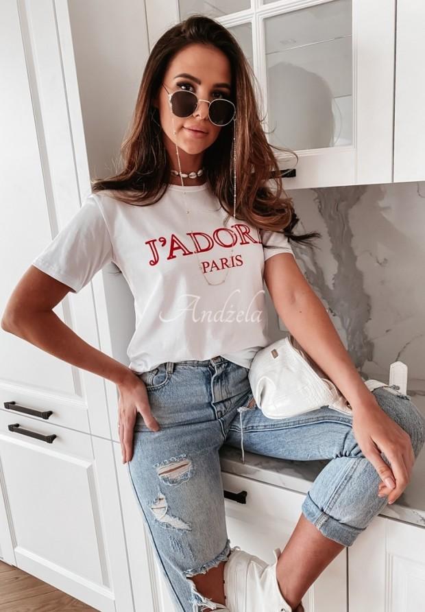 T-shirt J'adore Paris White