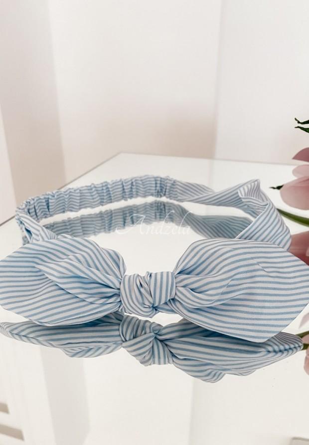 Opaska Bow Line White&Blue