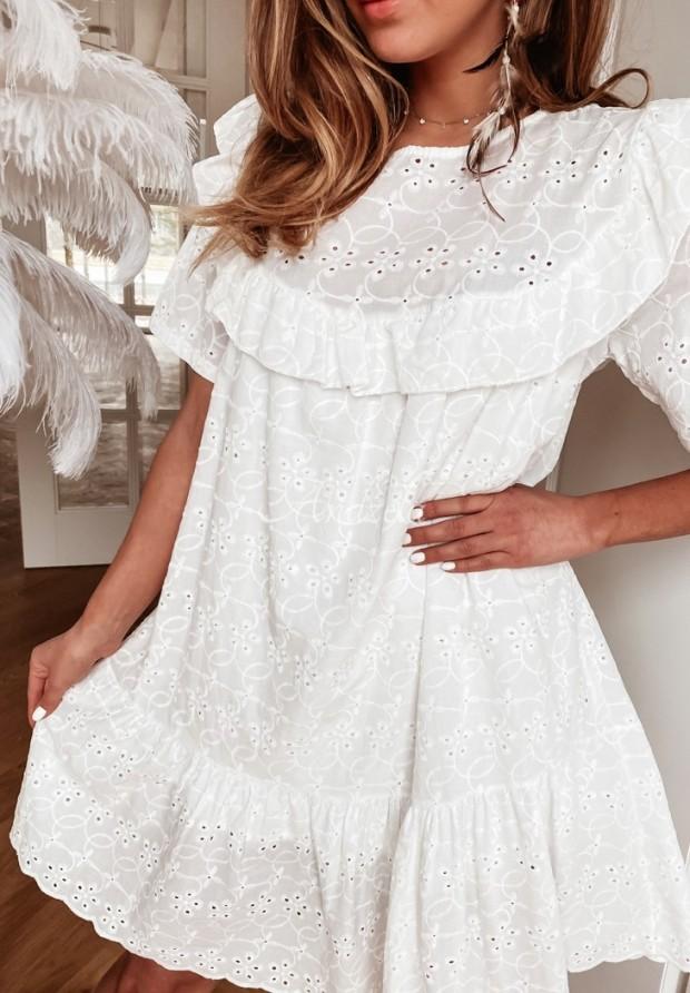 Sukienka Boho Nemea Ecru