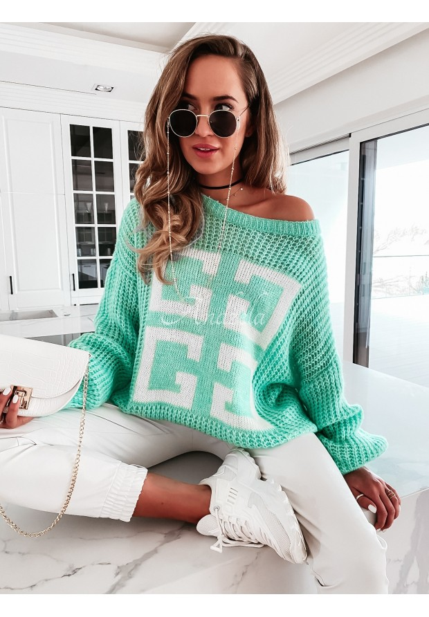 Sweter Perres Mint