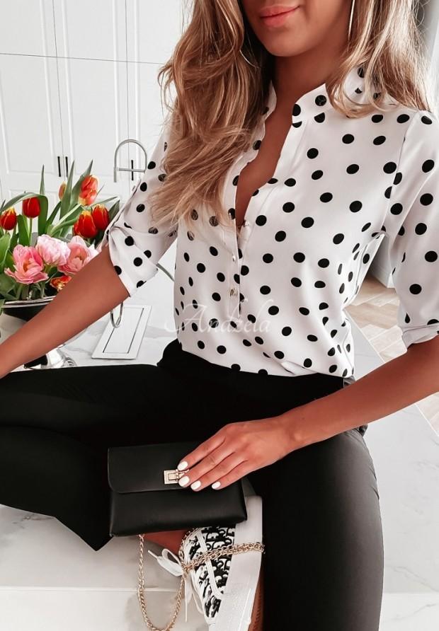 Koszula Medora Dots White