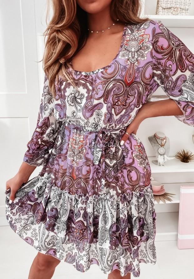 Sukienka Eolia Lilac