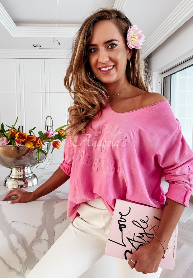 Bluzka Caravella Pink