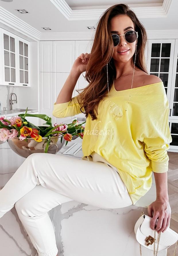 Bluzka Caravella Yellow