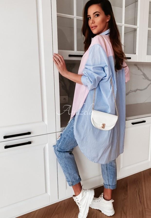Koszula Leirra Pink&Blue