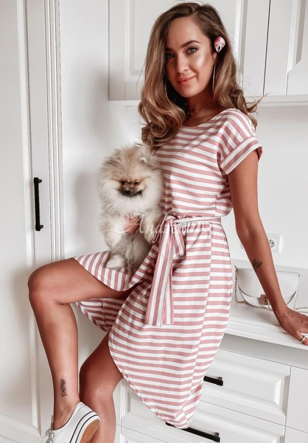 Sukienka Antonio Stripes Pink