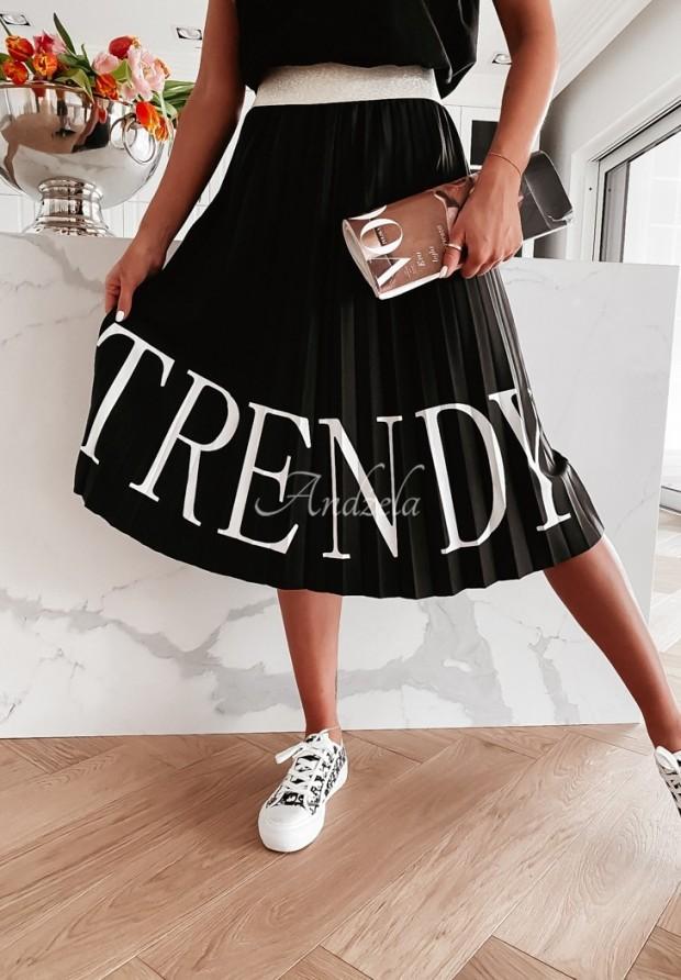 Spódnica Plisa Trendy Black