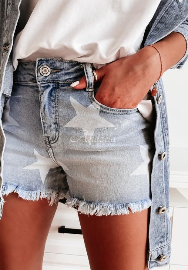 Shorty Jeans Stars