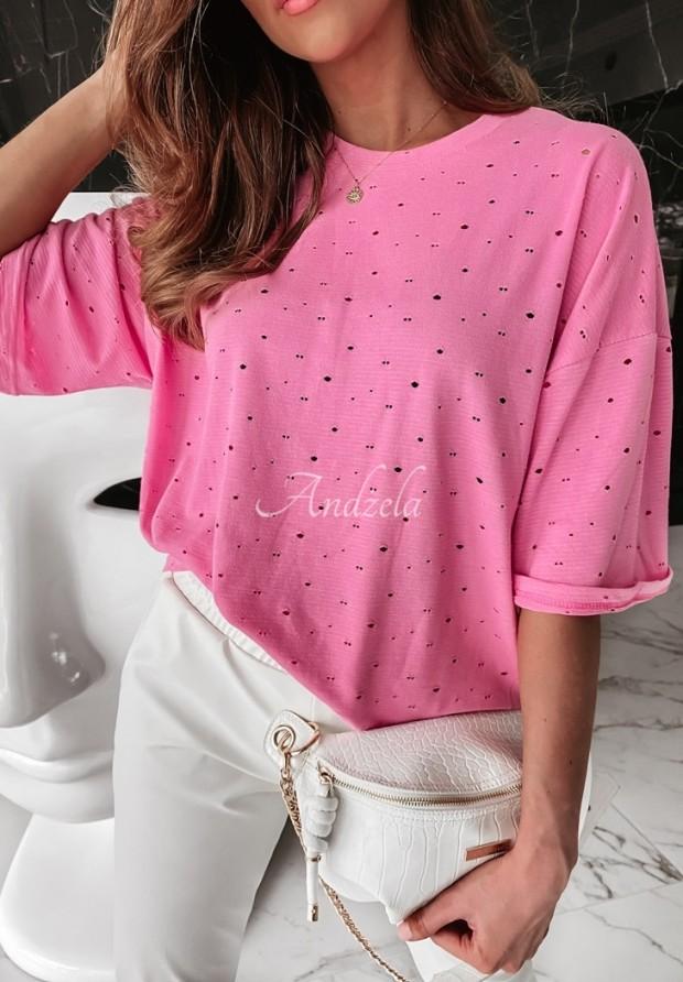 T-shirt Oversize Lurton Pink