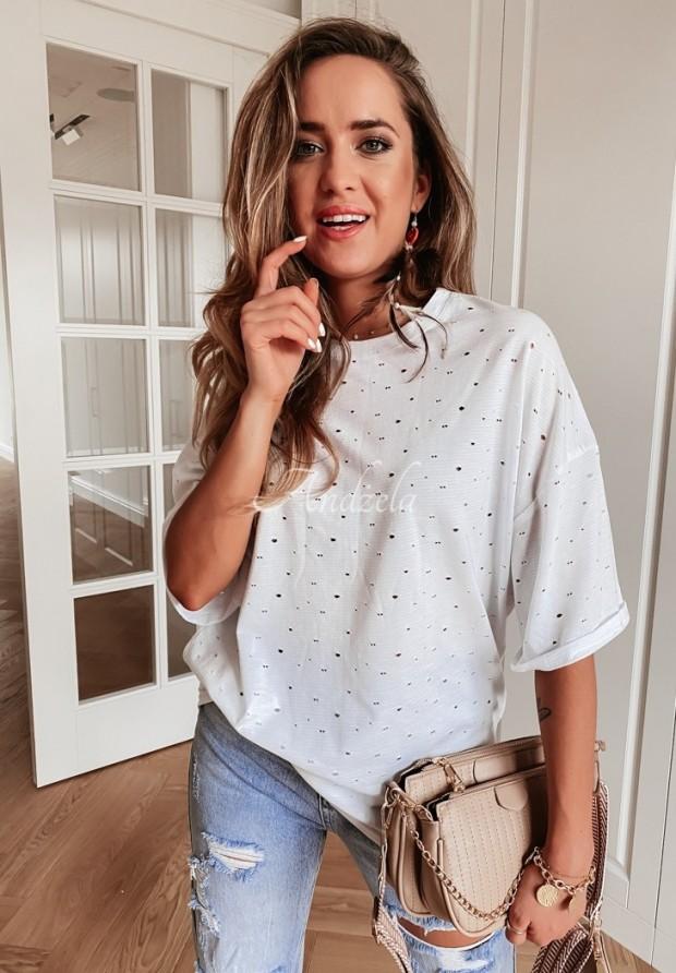 T-shirt Oversize Lurton White