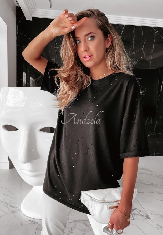 T-shirt Oversize Lurton Black