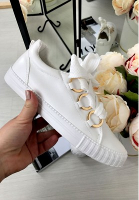 02 Buty Adidasy Rings White