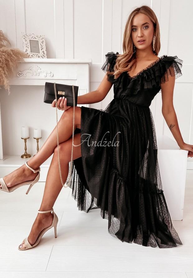 Sukienka Tiul Vallencia Dots Black