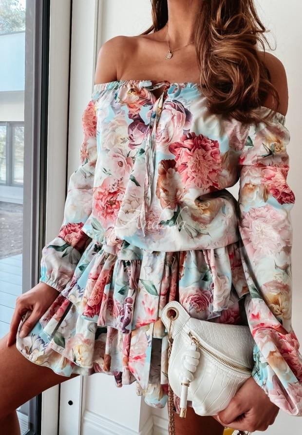Sukienka Hiszpanka Esther Blue