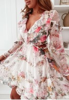 Sukienka Daviesii Ecru