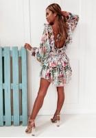 Sukienka Coriallo Powder&Green