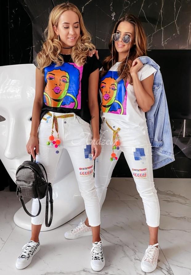 Spodnie Jeans Kasti White