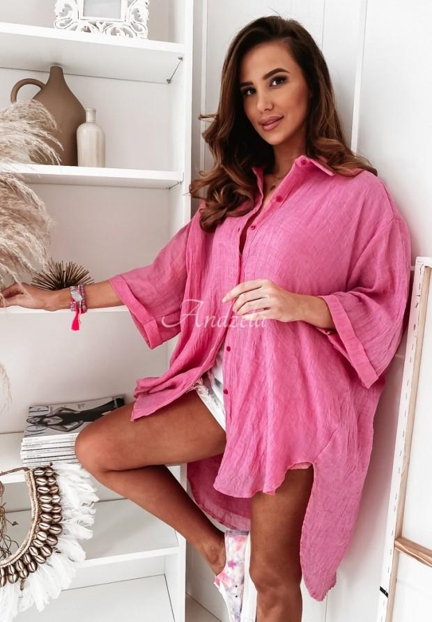Koszula Tunika Mirelle Pink