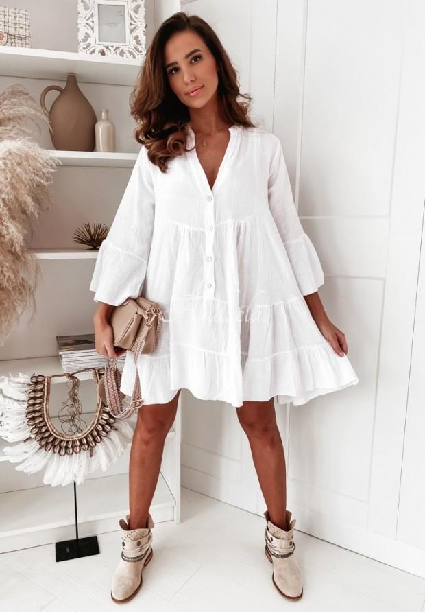 Sukienka Nervia White