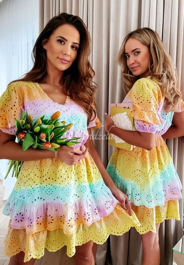 Sukienka Boho Rainbow Colour