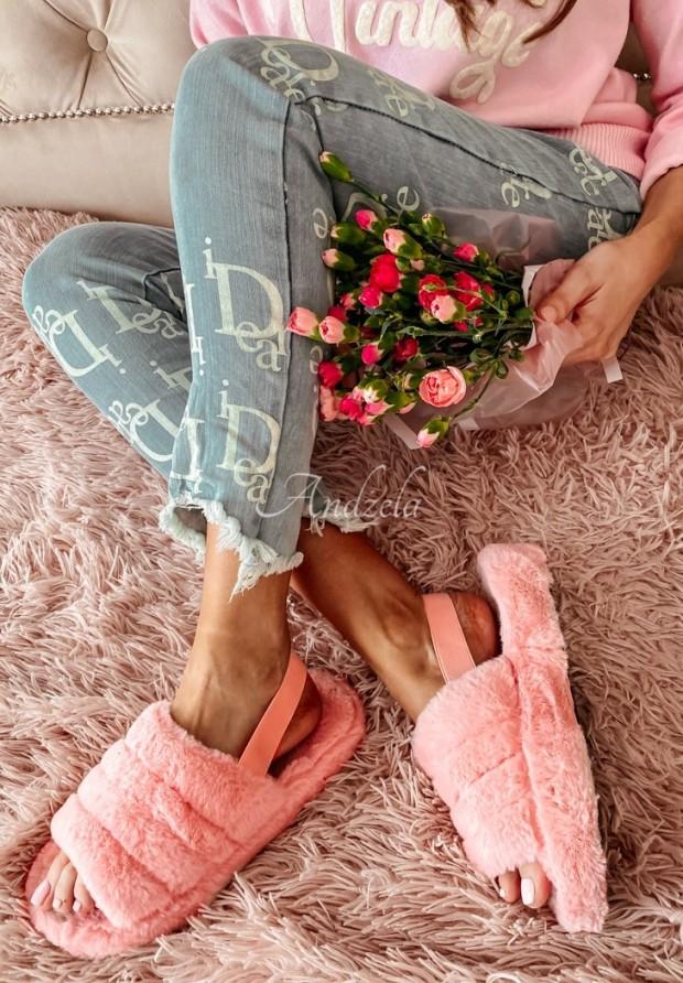 Klapki Sensitive Pink
