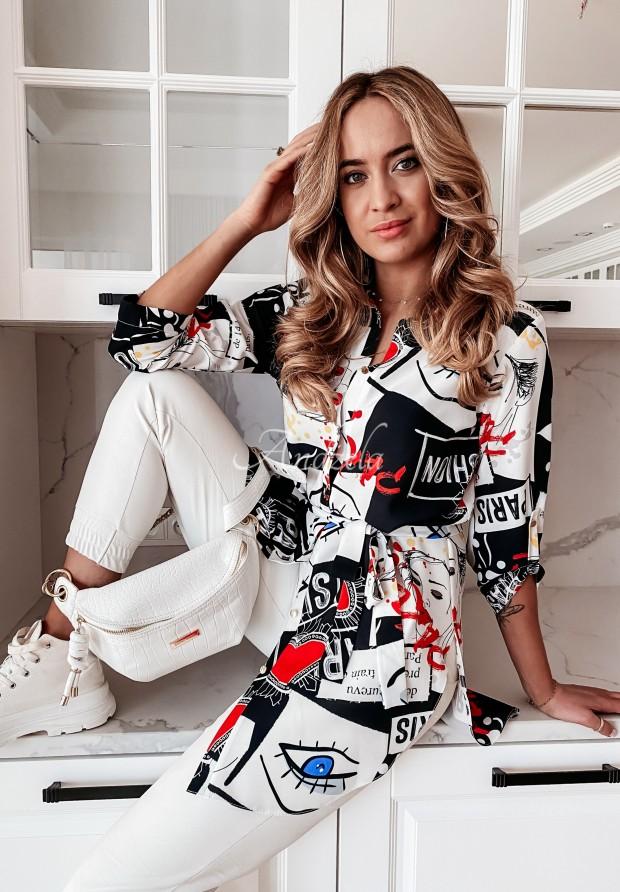 Koszula Tunika Paris Black&White