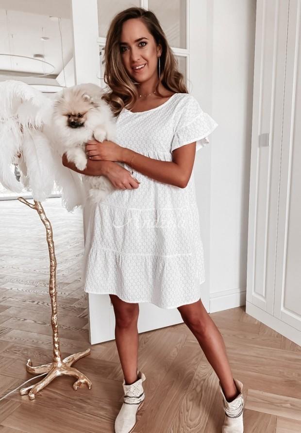 Sukienka Boho Cantina White