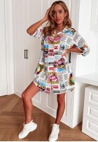 Sukienka Tunika Hollid White