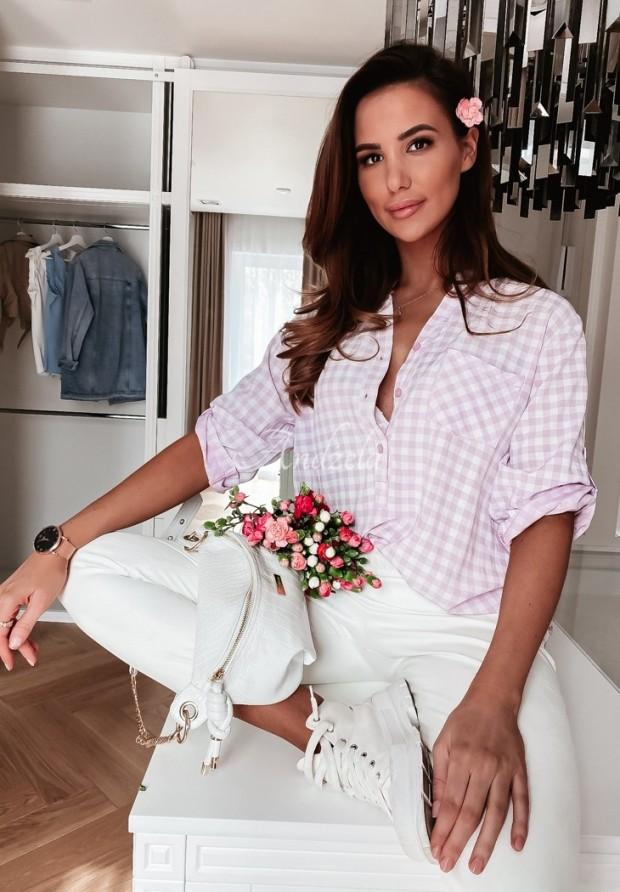 Koszula Krata Thallia Lilac