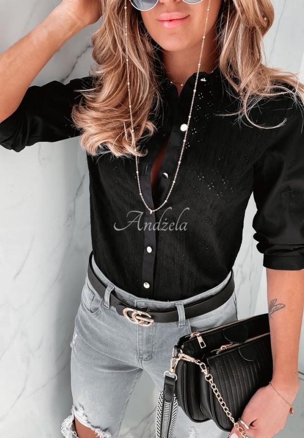Koszula Boho Lobea Black